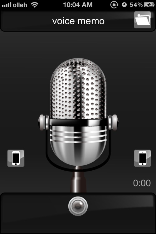 Voice Recorder-Secret, Disguising