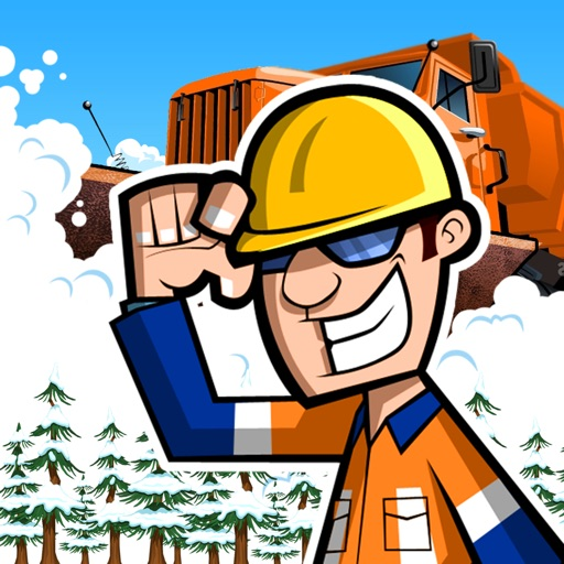 Snow Plow Truck Driver - Race The Storm! icon