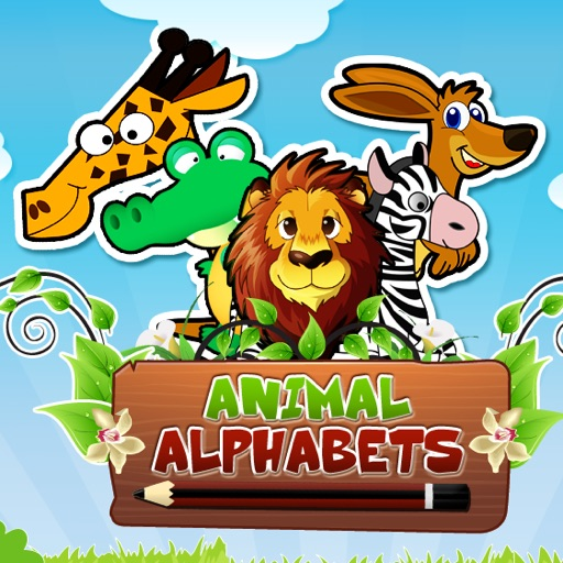 Animal  Alphabets HD: Learn , Write and Play
