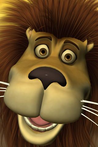 Talking Luis Lion screenshot one