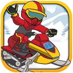 Heavy Snow Mobile Jammin Extreme - Amazing Frozen Ice Winter Sport Racing Game