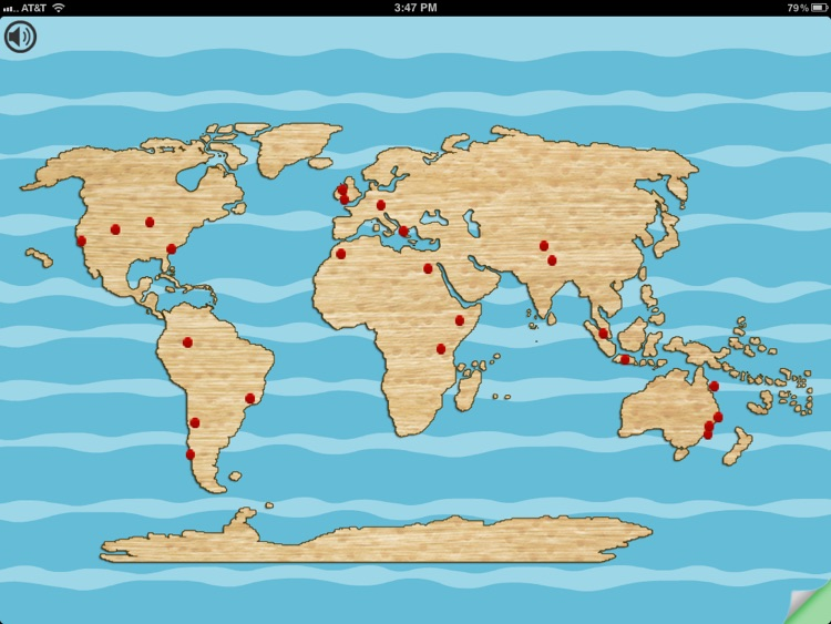 SimpleSort: Continents screenshot-4