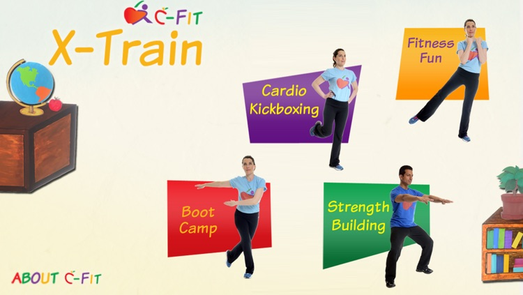 C-Fit XTrain - Classroom Fitness screenshot-0