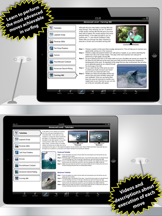 iSurfer - Surfing Coach for iPad