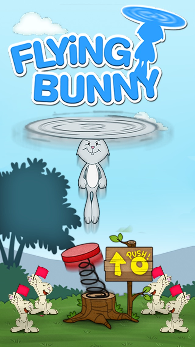 """Flying Bunny Top – by """"Best Free Addicting Games"""" Cheat Codes"""