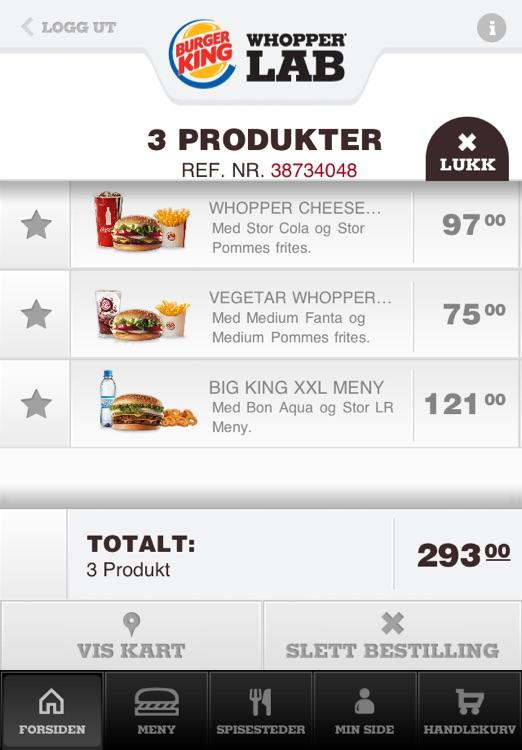 Burger King Whopper Lab screenshot-4