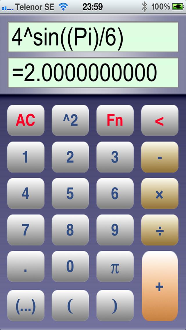 Super Calculator スーパー電卓のスクリーンショット1