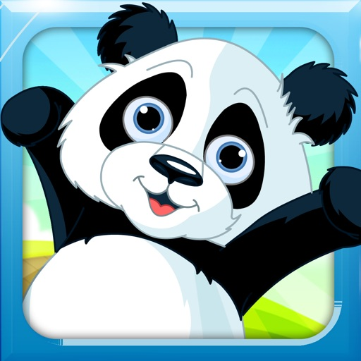 Cute Panda Bounce icon