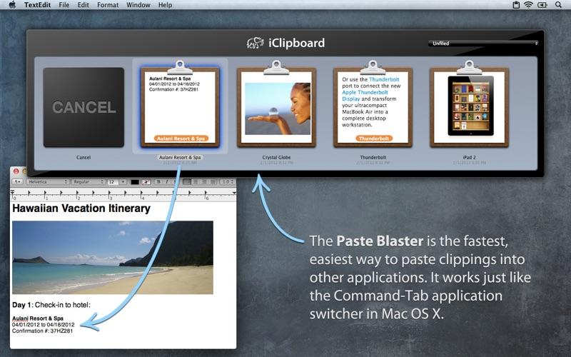 iClipboard Screenshot