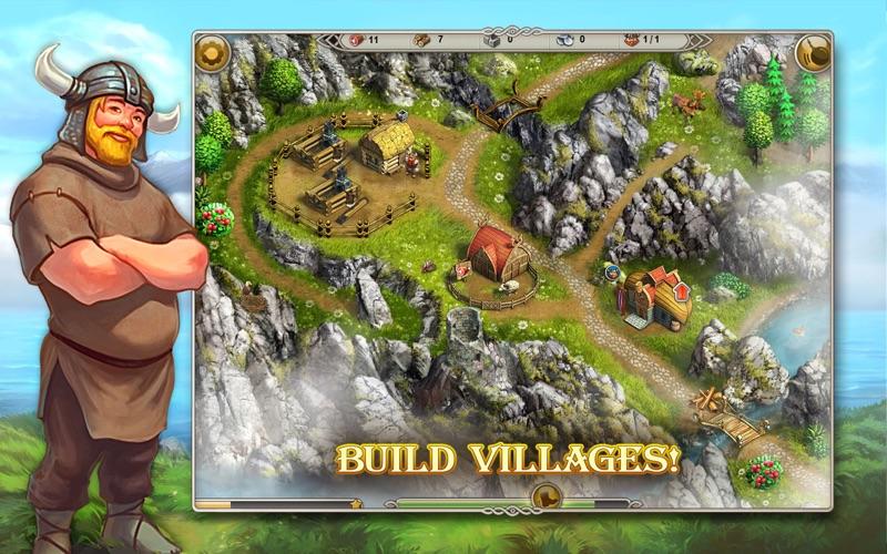 Viking Saga The Cursed Ring (Free) screenshot 1