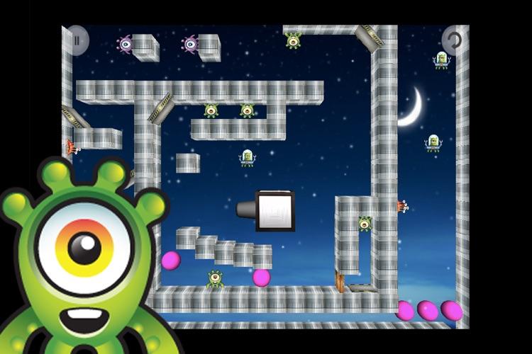 Baby Alien Invasion Lite screenshot-3