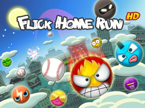 Flick Home Run ! HD на iPad