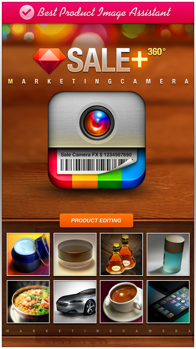 Screenshot #3 pour VENTE Caméra - la commercialisation des effets de caméra, plus éditeur de photos