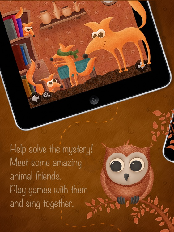 Who Stole The Moon? - free version - Interactive e-book for children
