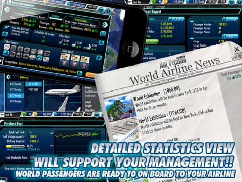 Screenshot #4 for AirTycoon Online