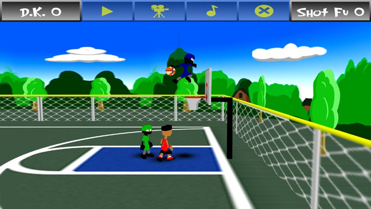 Funky Hoops Basketball screenshot-1