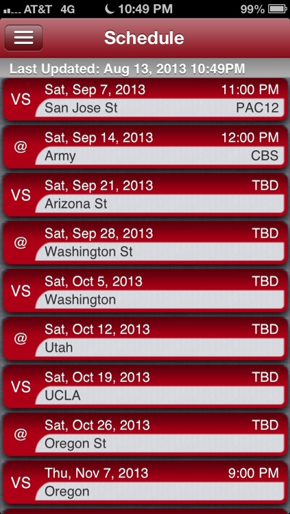 Stanford Football Live screenshot-2