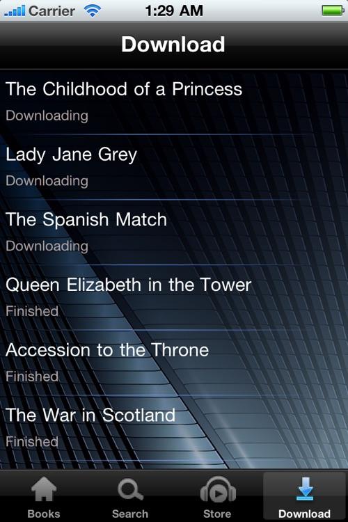 History Books - Audiobooks screenshot-3