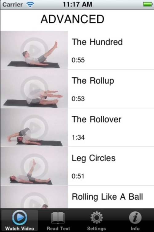 Pilates Classic Lite screenshot-1