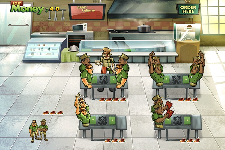 Army Cafeteria Lite screenshot-0