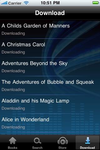 Audio Books for Kids screenshot-3