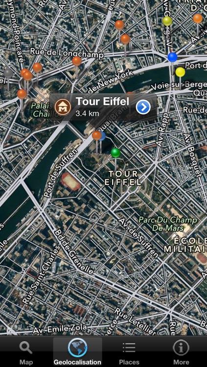 Discover Paris - maps, metro & monuments screenshot-3