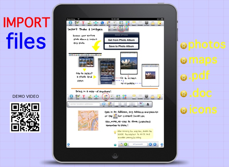 Page Composer & Note Taker for the iPad screenshot-3