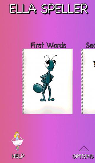 Ella Speller : First Words screenshot two