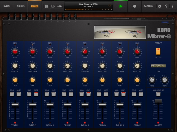 KORG iPolysix for iPad screenshot-2