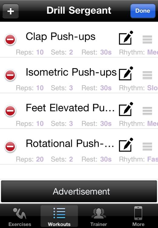 Push Ups Free screenshot-3