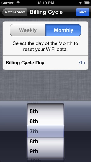 Data Control - Manage Data Usage in Real Time Screenshot
