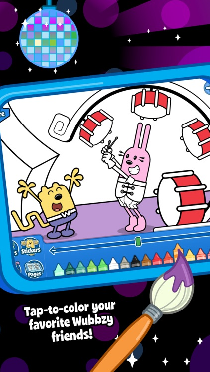 Wubbzy's Dance Party screenshot-4