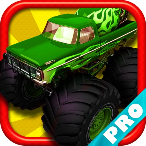 Monster Truck Rider Jam on the Mine Field Dune City 3D PRO - FREE Game icon