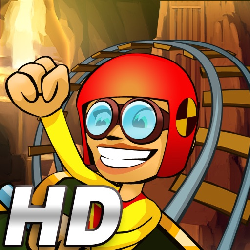 Underground 3D Rollercoaster Rush HD icon