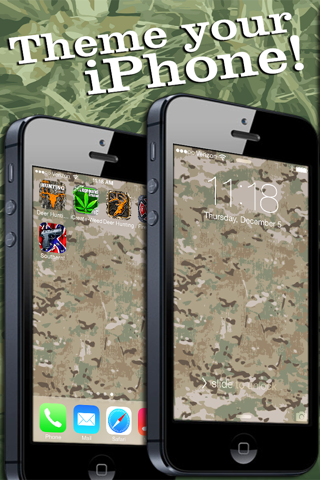 Camo Yo Screen! - Camouflage screenshot 4