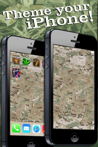 Camo Yo Screen! - Camouflage screenshot 4