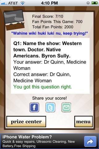 TV Show Quizzle™ screenshot-4