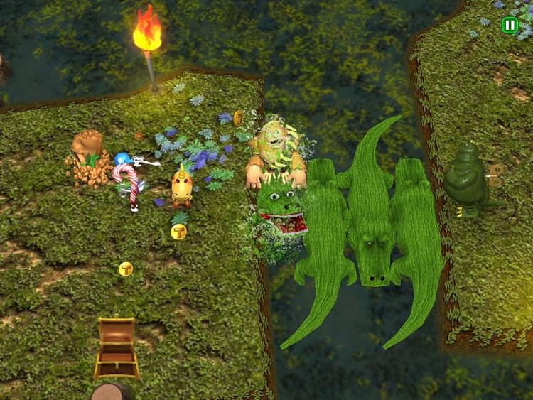 Trouble in Tin Town HD screenshot-3