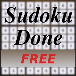 Sudoku Done FREE