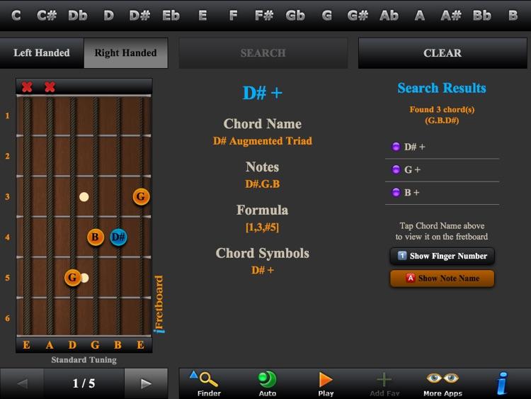 Guitar Scales, Arpeggios & Chord Finder screenshot-3