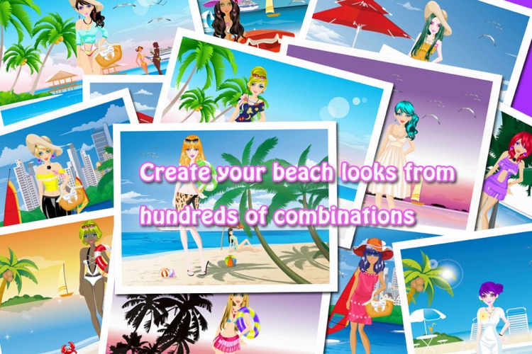 Beach Fashion Lite - Dress up and Makeup Game screenshot-4