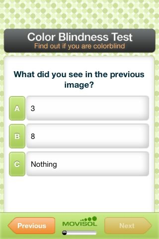 Color Blindness Test Lite screenshot-4