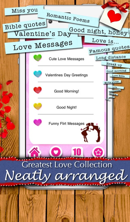 5,000 Love Messages - Romantic ideas and words for your sweetheart