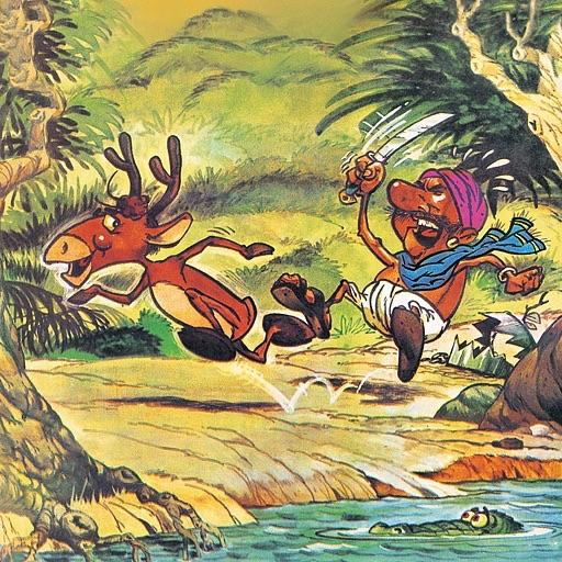 Tales of Wisdom- Deer Stories (Jatakas - Buddhist Zen Tales) - Amar Chitra Katha Comics