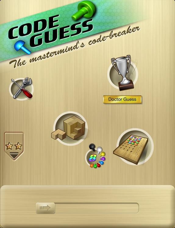 Code Guess HD - mastermind 's code-breaker