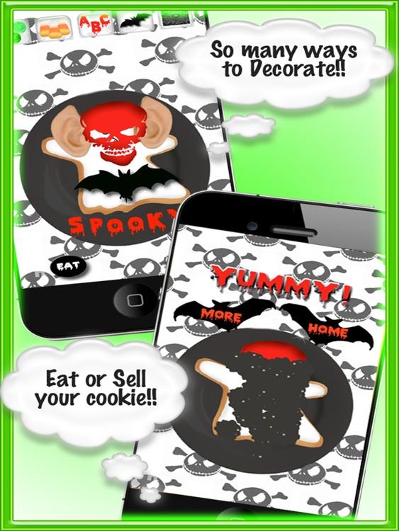 Spooky Cookie FREE HD screenshot-4