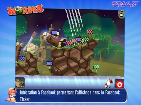 Screenshot #4 pour Worms HD