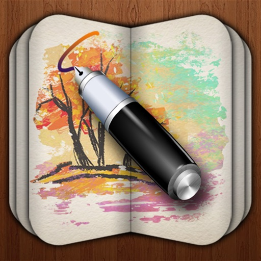 My Sketch Paper HD - Write, Paint on Notebook