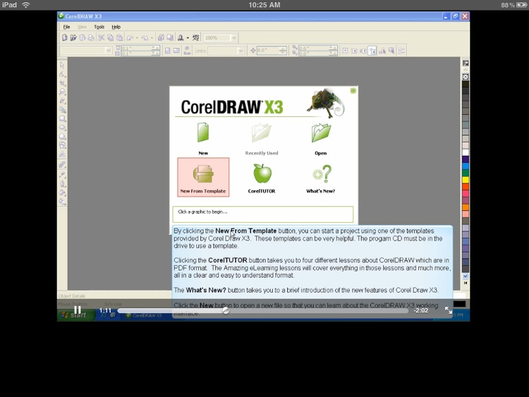 Video Training for CorelDraw X3 by Amazing eLearning LLC
