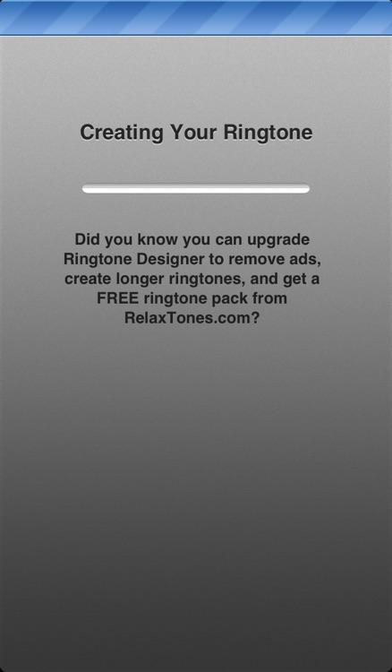 Ringtone Designer - Create Unlimited Ringtones, Text Tones, Email Alerts, and More!